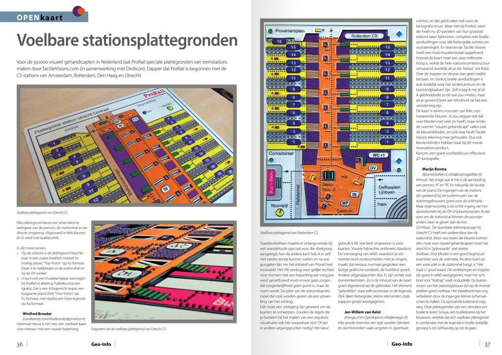 Voelbare stationsplattegronden